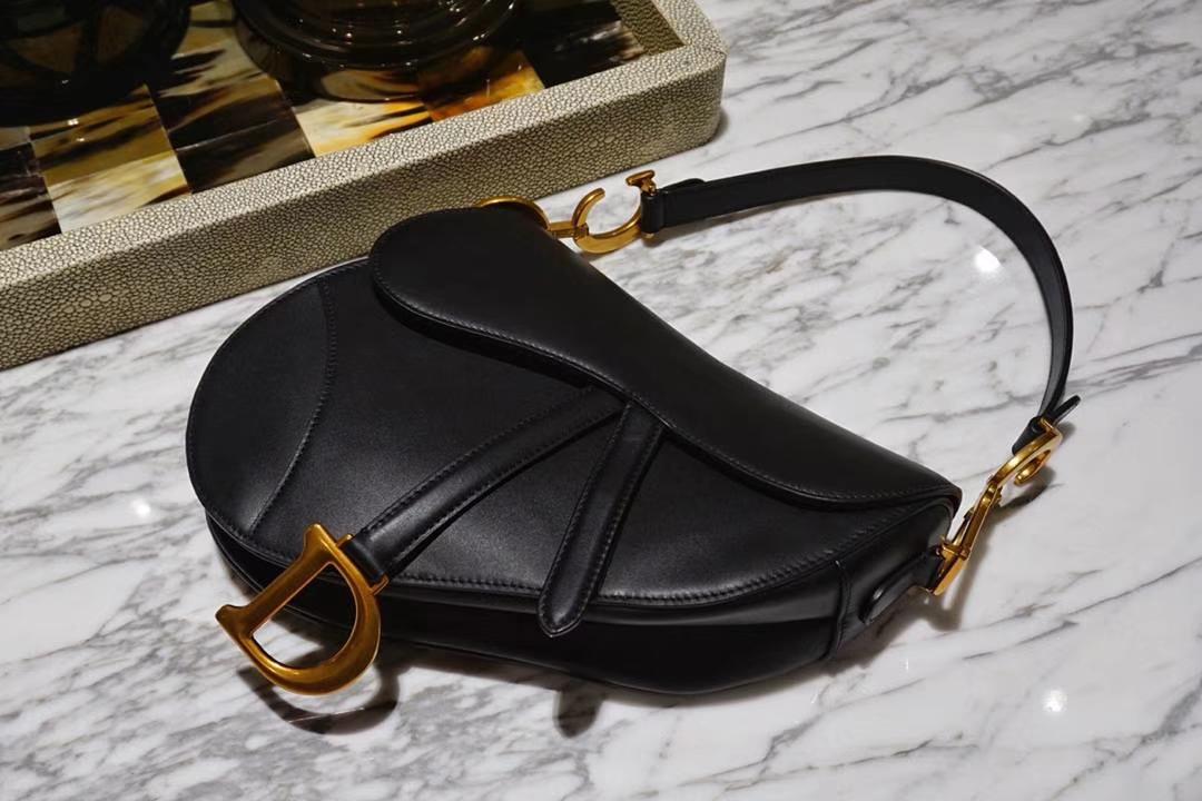 Dior马鞍包完美出品 市场最高版本 黑色