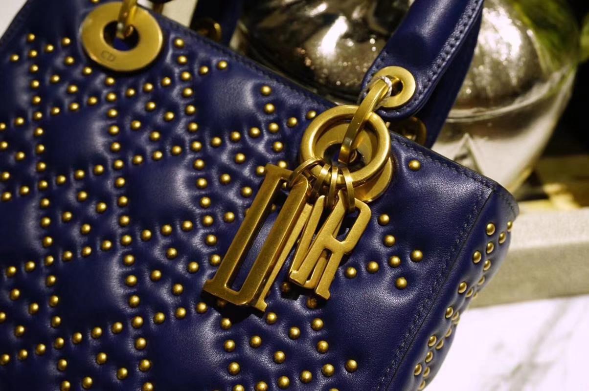 Dior 迪奥 柳钉包 奢华大气优雅 精钢复古五金 手工打造 不氧化不脱落