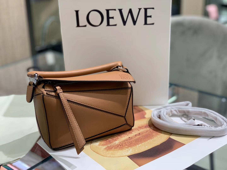 Loewe puzzle 迷你 超级跑量款 2019新色 焦糖色