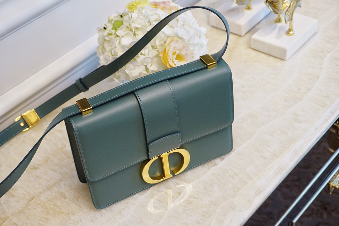 Dior 迪奥蒙田 橄榄绿 24cm 原厂进口皮 24K五金 代工厂出货