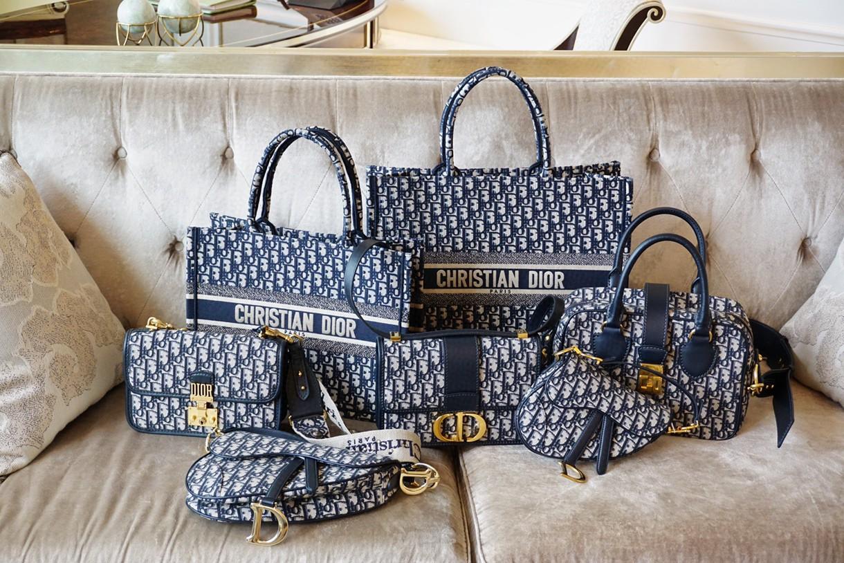 Dior 老花风潮 经典有味道 购物袋