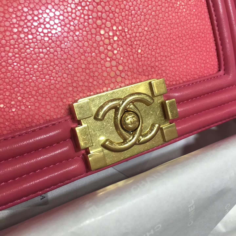 客订 Chanel 香奈儿 官网同步 珍珠鱼皮 嫩粉 出货