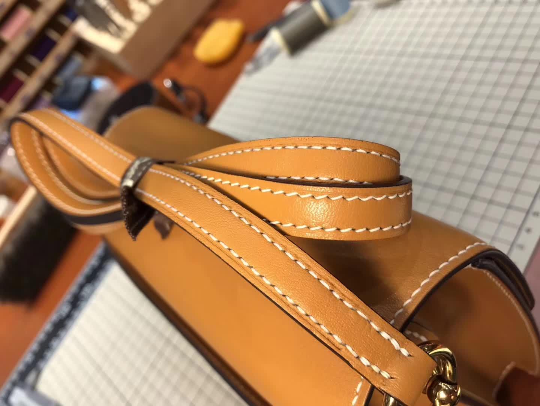 Hermes Roulis mini 19 金棕 gold ck37 爱马仕官网同步 专柜断货颜色