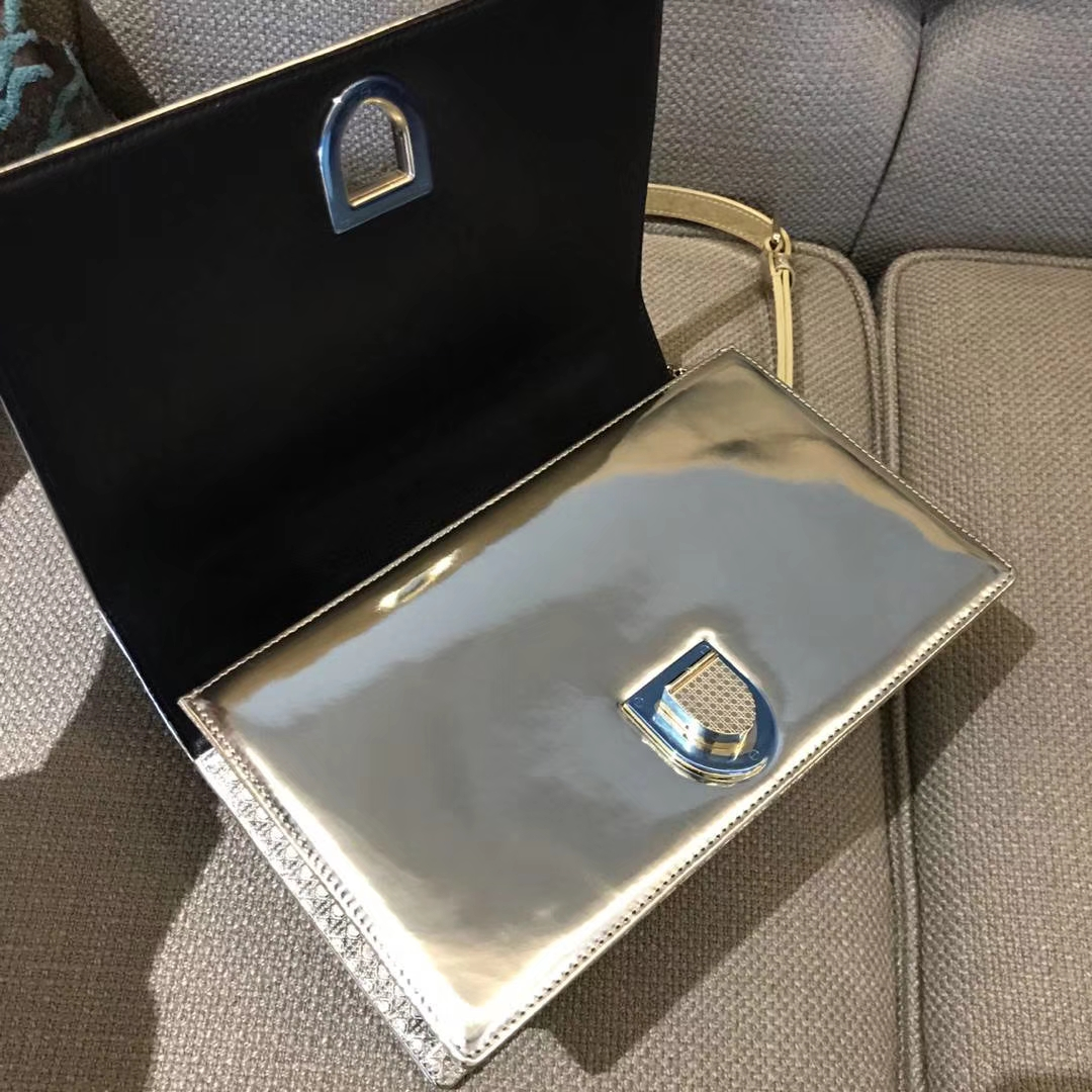Dior 腾格纹 25cm/21cm 土豪金 专柜同步