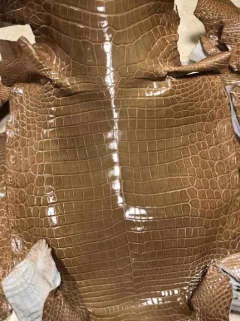 Dior 迪奥 戴妃包 Lady Dior VIP私人定制鳄鱼 5格 24cm 戴妃 焦糖色