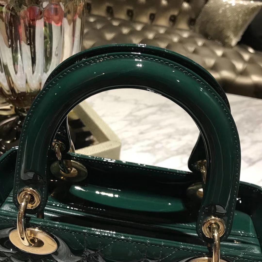 意大利 进口原厂正品皮料墨绿色 数量不多 原厂皮料 DIOR迪奥