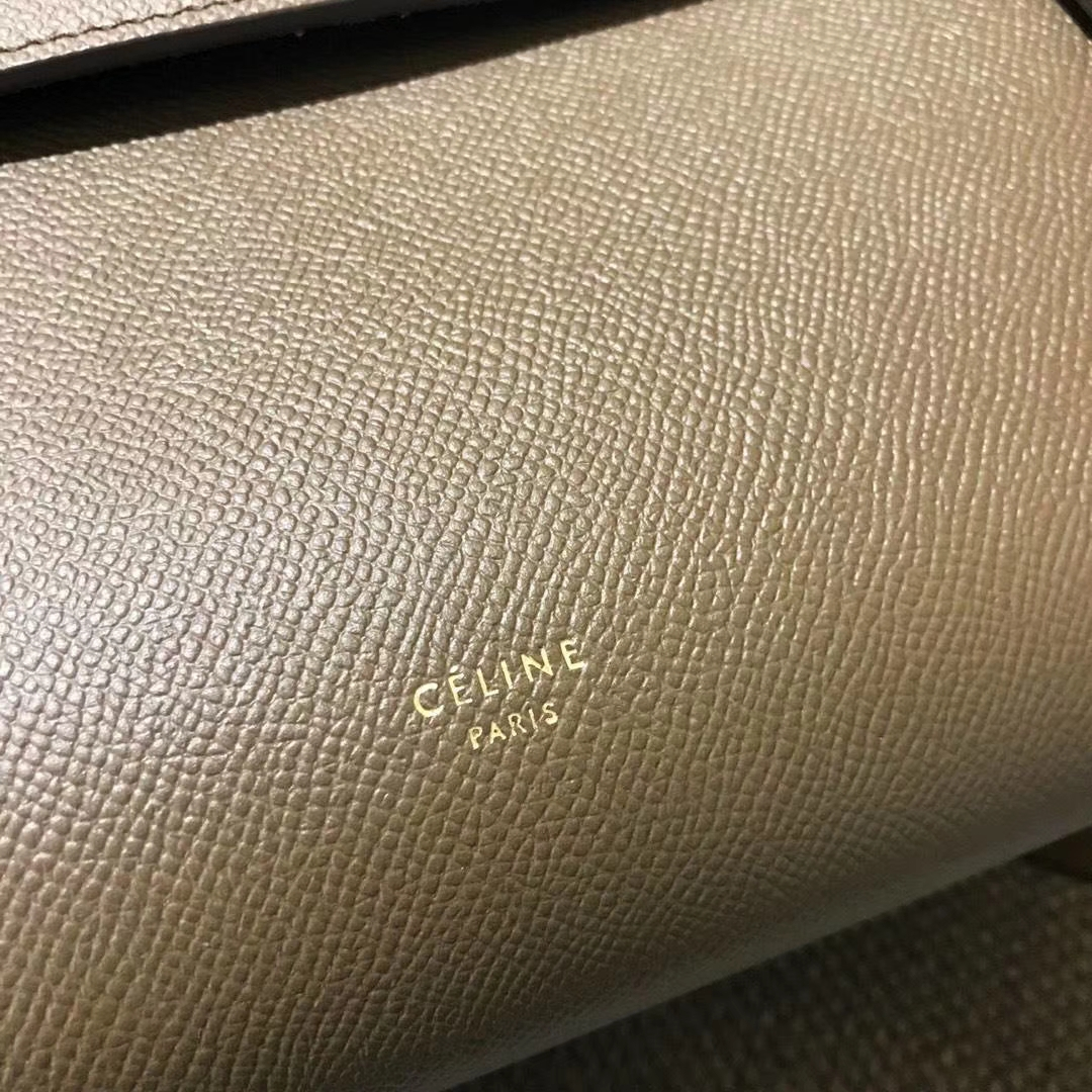Celine 思琳 鲶鱼包 Belt Bag 百搭款式 经典大象灰
