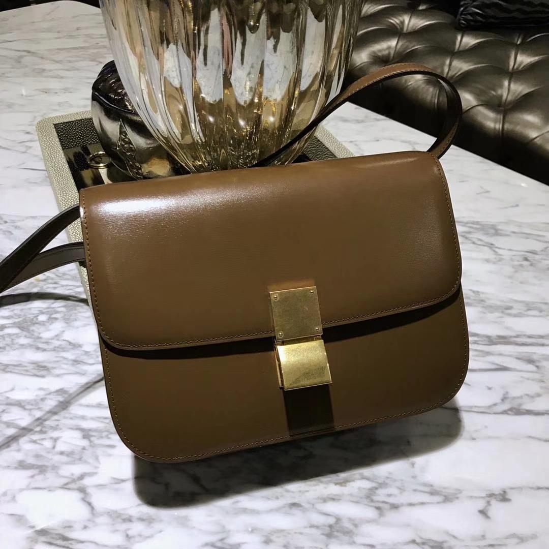 Celine 思琳 最新版本 box豆腐包 24cm 实拍 专柜同步 最新做法 优雅时尚