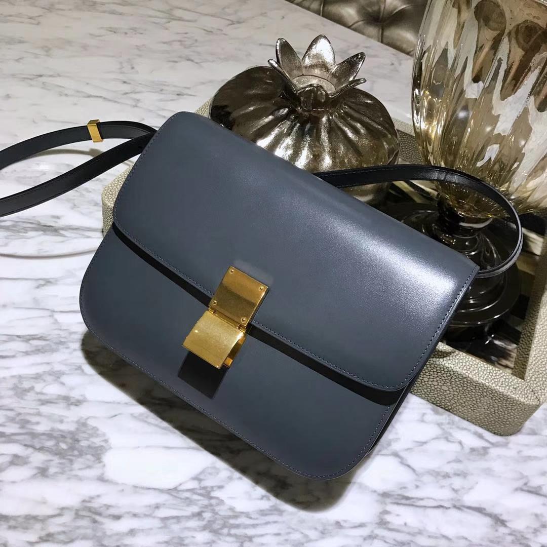 Celine 思琳 最新版本 box豆腐包 实拍 专柜同步 最新做法 优雅时尚