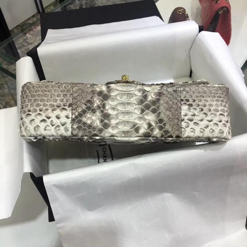 Chanel 香奈儿 ClassicFlap蟒蛇皮 【原花色】 25cm