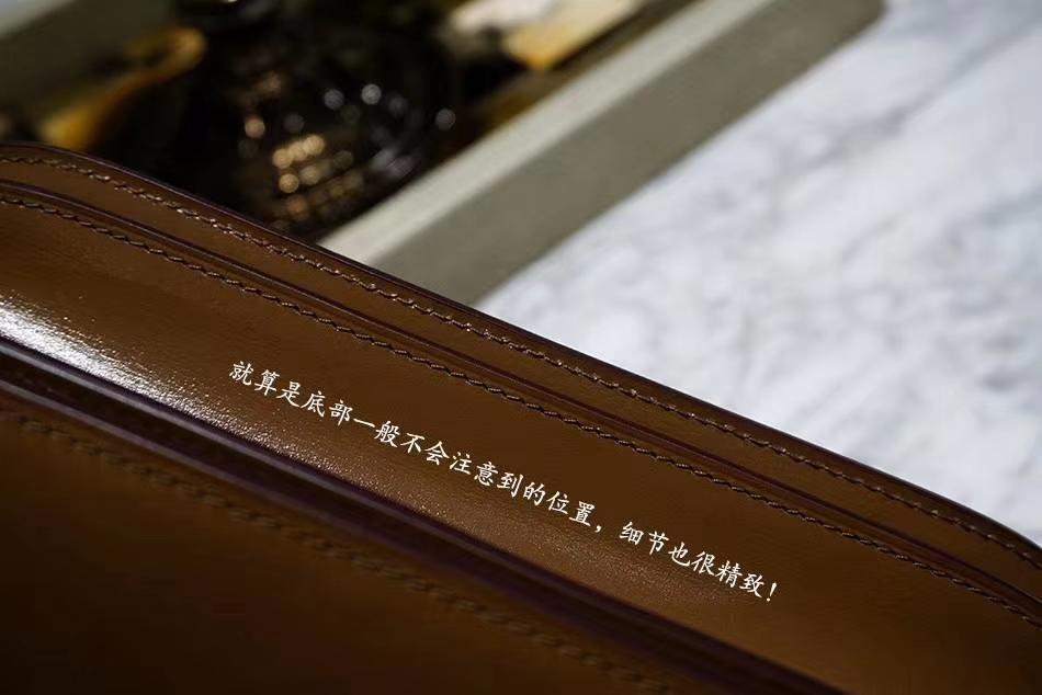 Celine 思琳 Box 豆腐包 百搭焦糖色 金扣 细节实拍