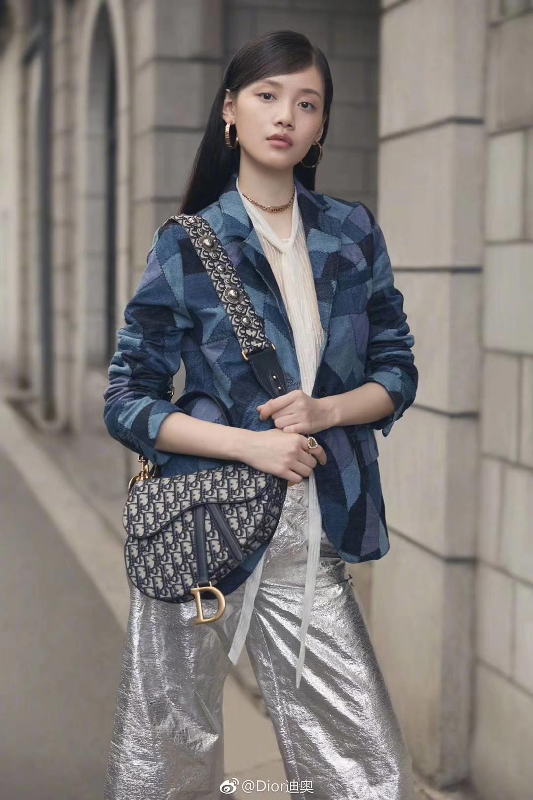 迪奥新款肩带 全新Dior马鞍包 搭配肩带使用 美到爆