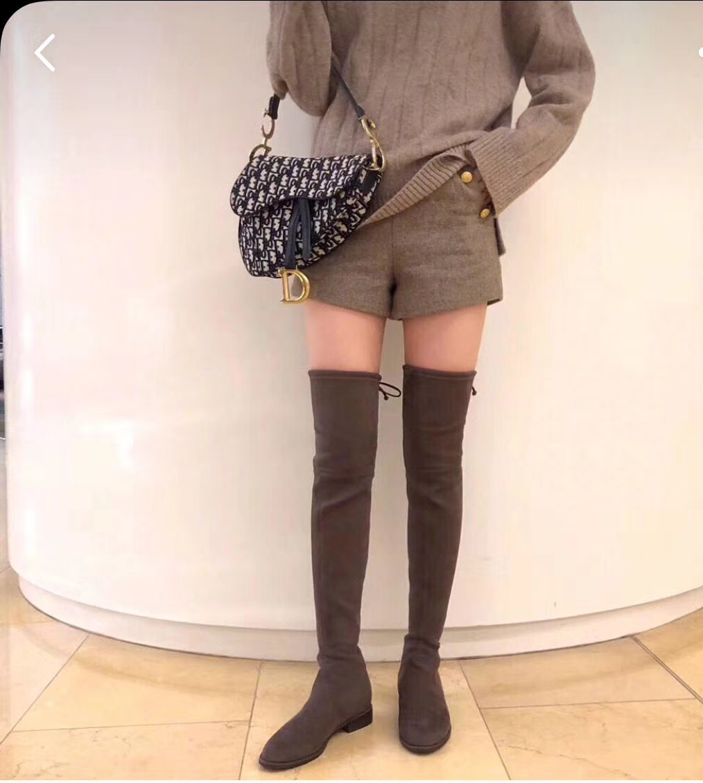 Dior马鞍包 迪奥 布纹大号 原装短肩带