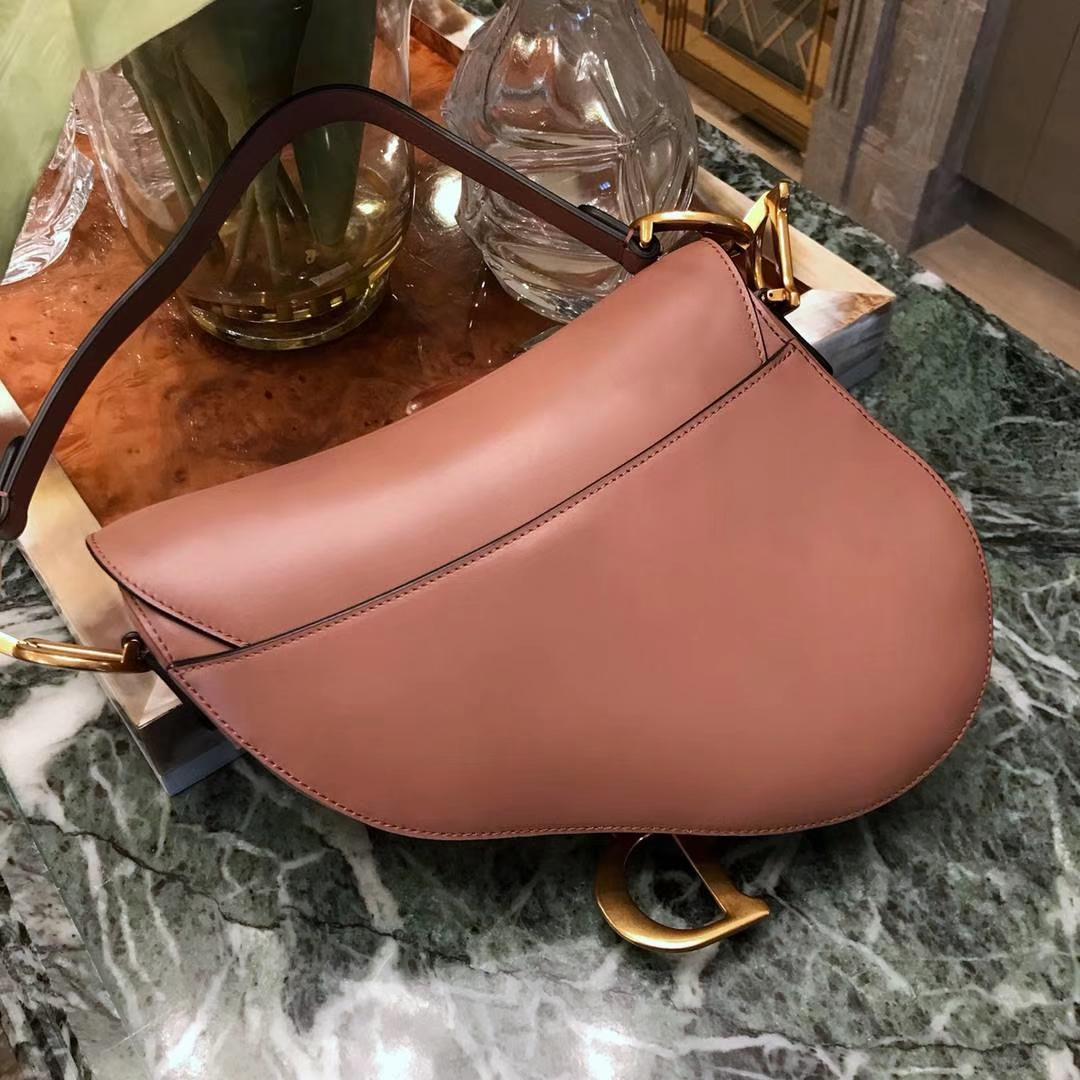 Dior马鞍包完美出品 市场最高版本 龙虾粉