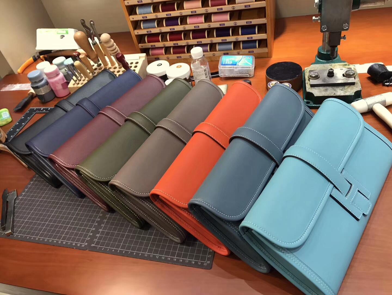 HERMES 爱马仕 手包 配全套专柜原版包装 全球发售 Swift Jige 手拿包