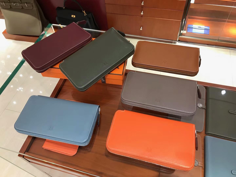 HERMES 长款拉链钱包 配全套专柜原版包装 现货系列