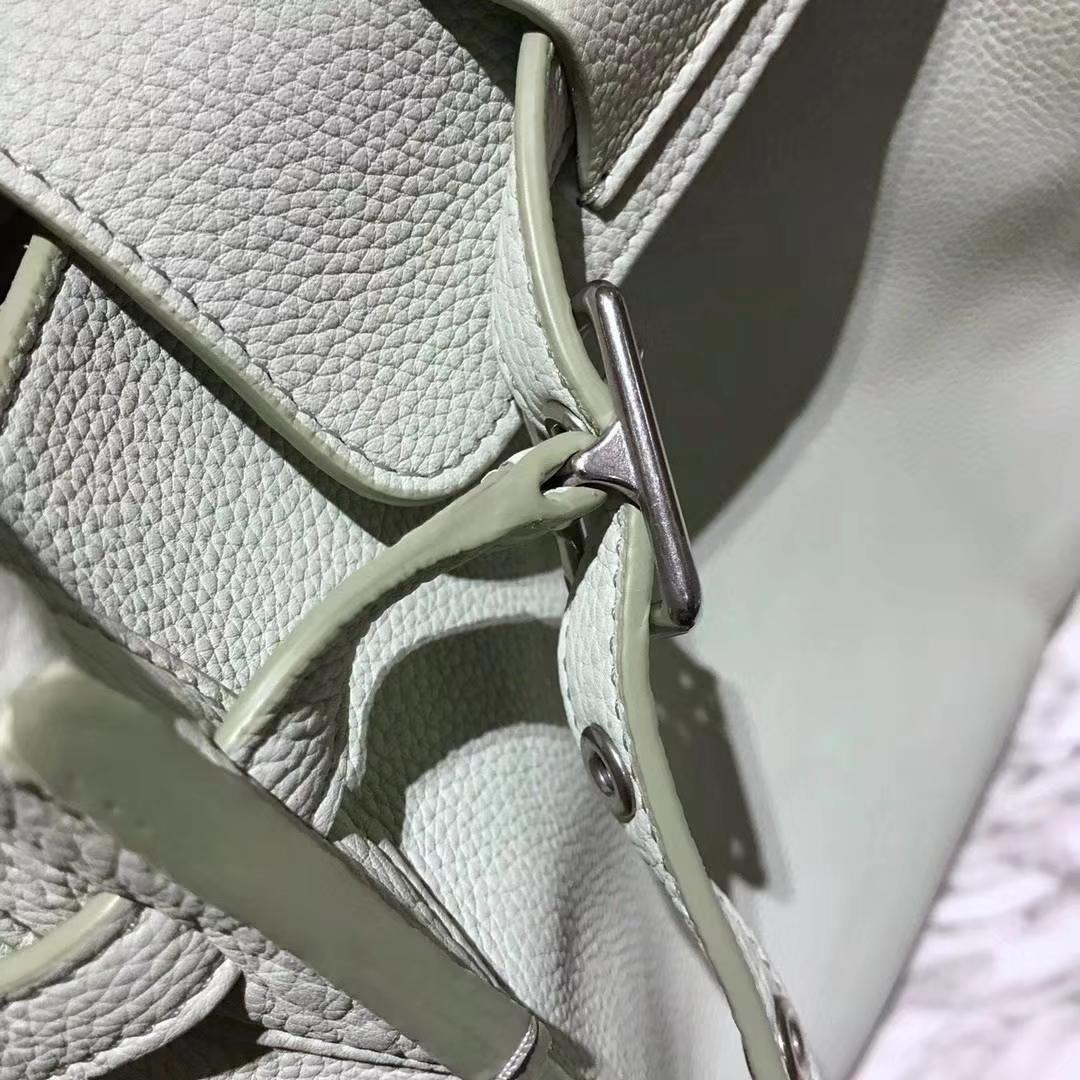 CÉLINE购物袋专柜同步发售  中号24x26x22cm 薄荷绿