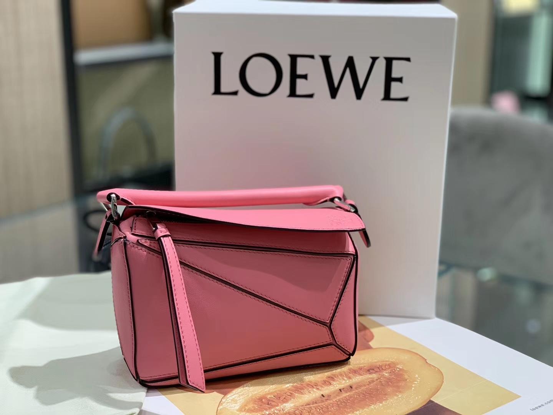 Loewe puzzle 迷你 超级跑量款 2019新色 玫红色