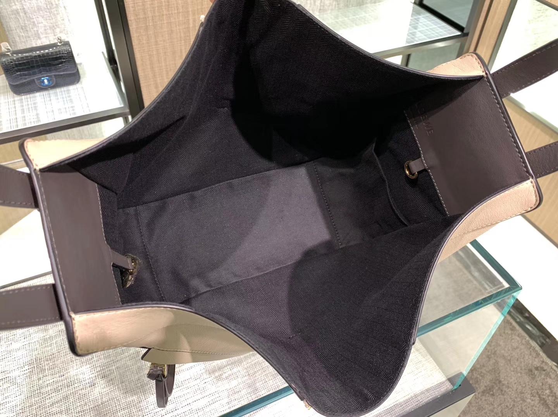 Loewe hammock 吊床包 新色 裸粉拼灰 六种背法