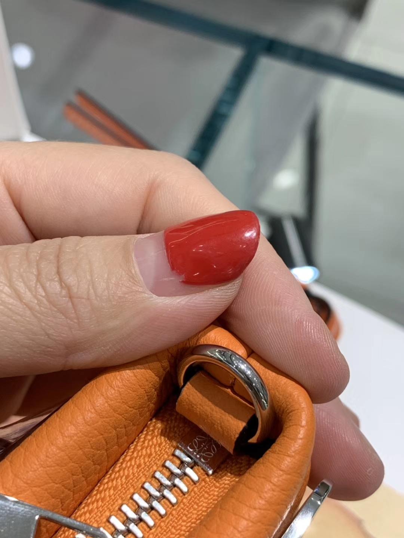 Loewe 罗意威 新款手柄 橙色 官网同步 原厂皮料五金制定
