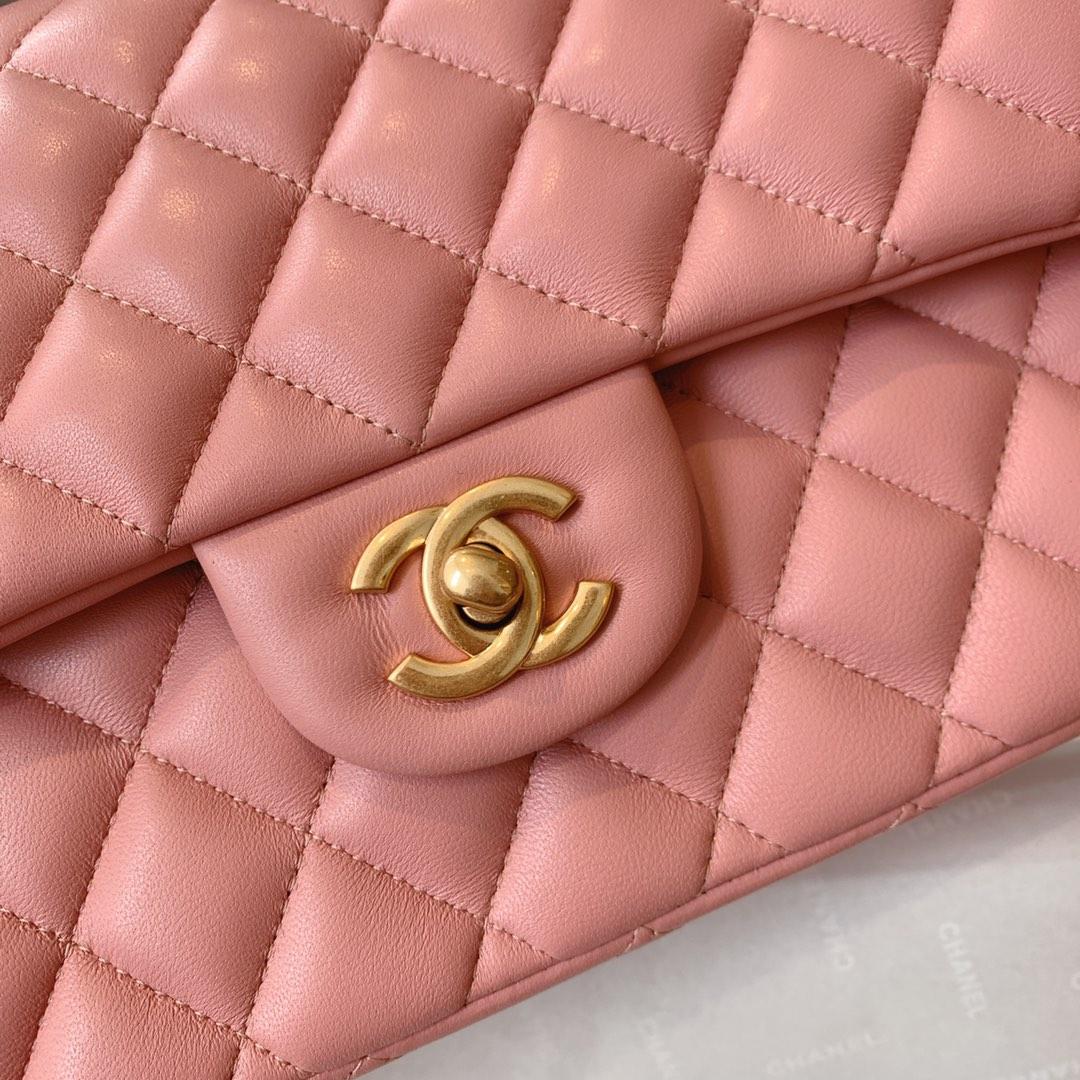 Chanel 香奈儿 真品级 原厂bodinjoyeux羔羊皮 CF25cm