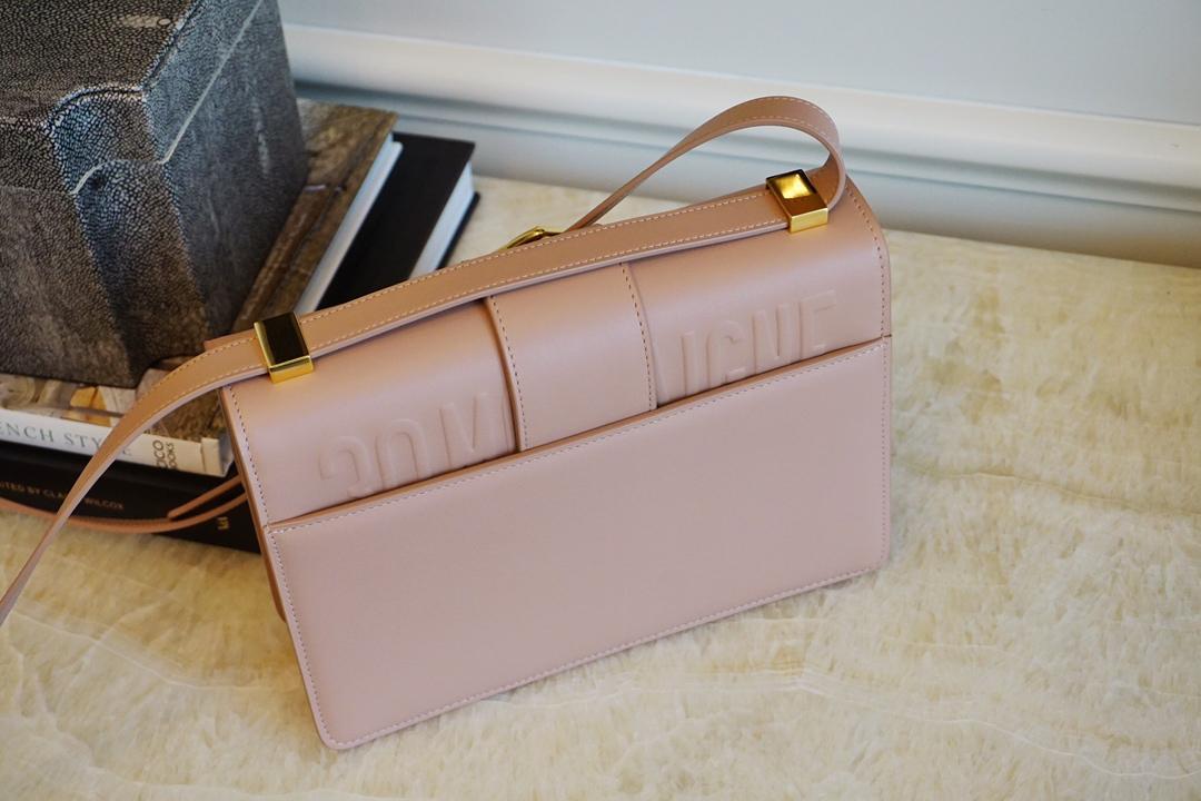 Dior 迪奥 蒙田女包 ZP打版开发 代购版 裸粉色 高级优雅风