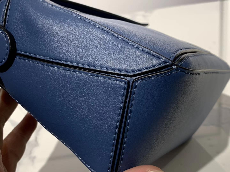 Loewe 罗意威 Puzzle mini 蓝色 代购版