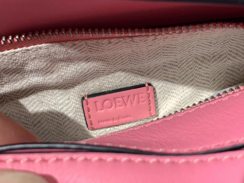 Loewe 罗意威 Puzzle mini 粉色 代购版