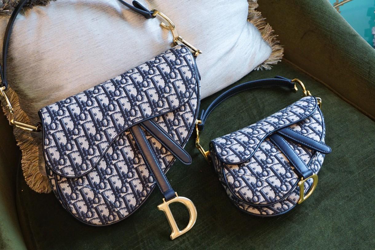 Dior当家头牌 复古风潮 广州代购版包包批发 马鞍包
